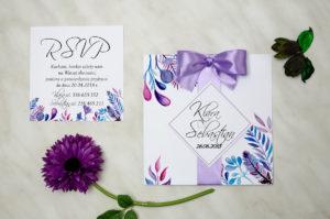 nietypowe ślubne zaproszenie